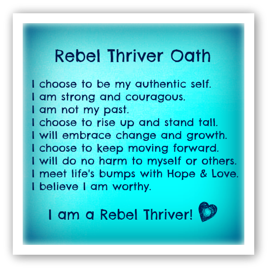 Rebel Thriver Daily Love Email Sign Up & Archives